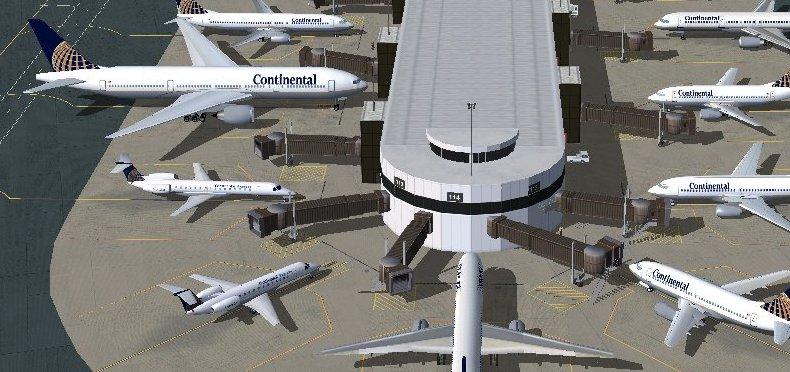 FS2004 Aircraft Gates